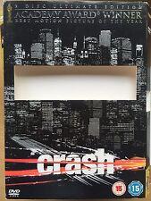 CRASH ~ 2005 Film UK DVD Slipcover