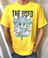 THE USED Official T-Shirt(L)OG 2008 New Genuine Merch. Emo Screamo Punk 25H