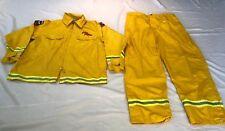 FIREFIGHTER Wildland/Brush fire JACKET & PANTS w/Reflector Stripes size XXL