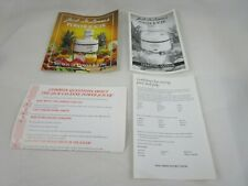 Jack Lalanne's Power Juicer Operating Manual & Secrets Of Power Juicing