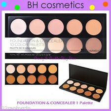NEW BH Cosmetics FOUNDATION & CONCEALER 1 Palette-Light/Medium FREE SHIPPING One