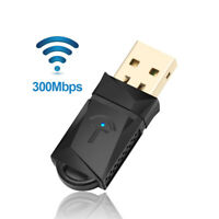 300Mbps Wireless USB WiFi adapter Wi-Fi Receiver Dongle Wi-Fi Card 2.4G For Pc