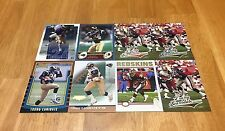 TRUNG CANIDATE LOT OF 8  FOOTBALL CARDS ST LOUIS RAMS RUN BACK REDSKINS ARIZONA