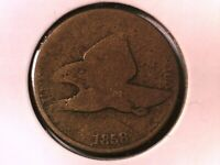1858 Flying Eagle Cent Genuine Raw Ungraded 00661