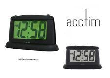 Acctim 14843 Juno Smartlite® LCD Display Digital Battery Operated Alarm Clock