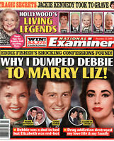 National Examiner November 25 2019 Debbie Reynolds Eddie Fisher Elizabeth Taylor