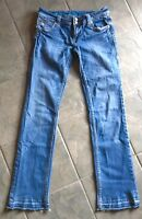 SANG REAL WOMEN's JEANS 29 X 32 LOW RISE, BOOT CUT, PRE OWNED