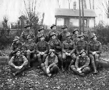 Photo. WW1. Australia. Fighters from 36th & 33rd Battalions AIF