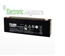 FIAMM FG20201 Batteria al piombo ricaricabile 12V 2,0Ah per antifurti e sirene
