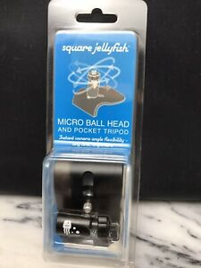 Square Jellyfish Micro Ball Head and Pocket Tripod -PKTRBHD72 - NEW