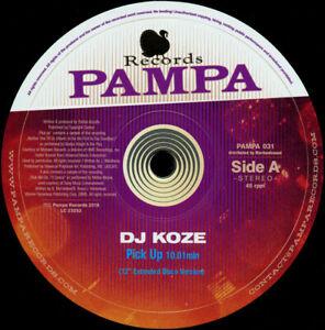 "DJ Koze - Pick Up 12"" Vinyl Record - Daft Punk - Funky House - Stardust - GREAT"