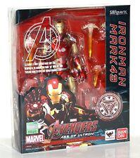 Bandai SH Figuarts Avengers Age of Ultron Iron Man Mark 43 Figure