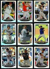 2013 Bowman Chrome Draft Picks & Prospects Rookie Card RC You Pick Refractor