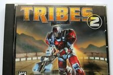 Tribes 2, 2000 PC Game CD-ROM Disk in Jewel Case with Artwork