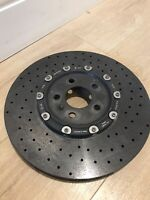 Audi R8 carbon ceramic brake disc