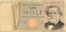 ITALIE ITALY ITALIA 1000 LIRE VERDI état voir scan 388