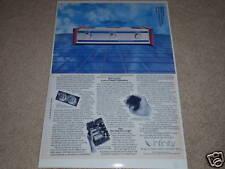 Infinity DSP Class D Amp Ad,2 pgs,Technology,1975, Info