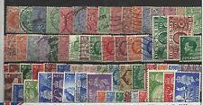 COLLEZIONE DEL MONDO - LOTTO GRAN BRETAGNA 1 (PRE 1953) - 67 PEZZI DIFFERENTI