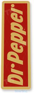 TIN SIGN Dr. Pepper Retro Soda Cola Sign Bar Store Kitchen Cottage Farm A057