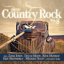 CD NEW COUNTRY ROCK VOLUMEN 8 de Various Artistas