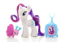 "My Little Pony ""RARITY"" (Traveling Ponies 2012 +accessories) G4 3"" FIM"