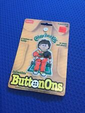 PLAYSKOOL Cabbage Patch Kids 1984 Vintage Collectible ButtonOns Tennis Player