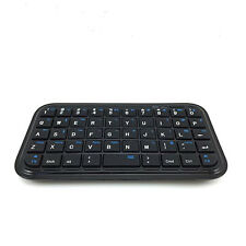 Stylish Black Slim Mini Bluetooth Wireless Keyboard For Tablet PC Cellphone