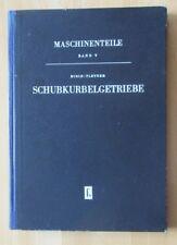 DDR Lehrbuch Schubkurbelgetriebe Kurbelwelle Kolben Kuppelstange Kolbenstange