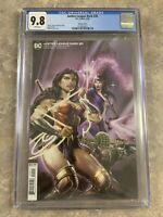 Justice League Dark #20 CGC 9.8 NM Clayton Crain Variant Cover DC Wonder Woman
