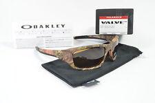 Oakley VALVE Woodland Camo w/ Bronze Polarized OO9236-25 NIB
