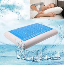 Cooling Memory Foam Orthopaedic Gel Firm Pillow Head Neck Back Large W40 x L60cm