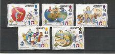 JERSEY 2010 Girl Guides Association SG, 1476-1480 UM/m N/H LOTTO r378