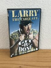 LARRY THE CABLE GUY: GIT-R-DONE (DVD, 2004) WIDESCREEN ~ REGION 1