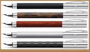 FABER-CASTELL Collection Fountain Pen Ambition 4 model Design different nibs