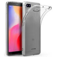 Transparent Cover für Xiaomi Redmi 6a Handy Hülle Silikon Case Schutz Tasche