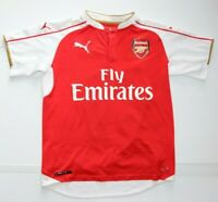 Authentic Puma Arsenal Alexis #17 Home Jersey Red Youth Size XL
