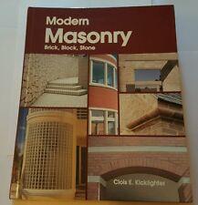 Modern Masonry by Clois E. Kicklighter (2003, Hardcover)