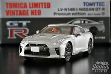 [TOMICA LIMITED VINTAGE NEO LV-N148b 1/64] NISSAN GT-R PREMIUM ED. 2017 (Silver)