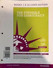 The Struggle for Democracy, 2012 Election Ed., MyPoliSciLab LooseLeaf Textbook