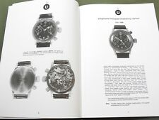 """GERMAN MILITARY TIMEPIECES OF WW2 VOLUME 1"" WRIST STOP WATCH REFERENCE BOOK"