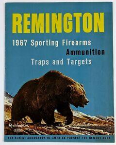 1967 Remington Product Catalog Firearms Ammunition Model 600 700 Rifles 742