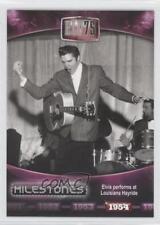 2010 Press Pass Presley Milestones #8 Elvis performs at Louisiana Hayride 0b6