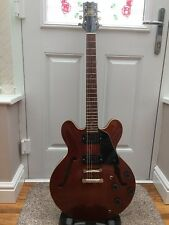 Rare Vintage 80's Hondo Deluxe H935-WA 335 Style Semi Acoustic Guitar Fantastic!