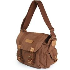 Caden F1 Vintage Canvas Camera Shoulder Bag For DSLR Nikon Sony Canon COFFEE