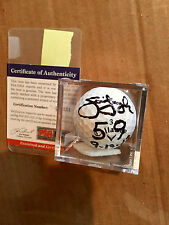 Jim Furyk signed Callaway Golf Ball Inscription 59 with date 9-13-13 with COA