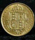 1887 Half Sovereign gold coin Shield UK Great Britain Queen Victoria Jubilee