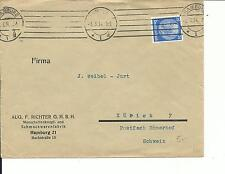 DR, Auslandsbrief, Umschlag gelaufen, 3.5.1934 Zürich