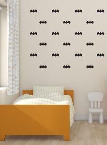 Batman Wall Stickers Wall Decals . Set of 54
