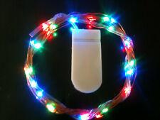 30 LED RGB CR2032 Battery CW String Lights 3m - UK Seller/Stock