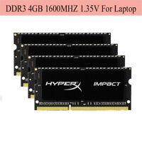 Für HyperX Impact 4GB 8GB 16GB 1600MHz DDR3L PC3L-12800S SO-DIMM Laptop RAM RHDE